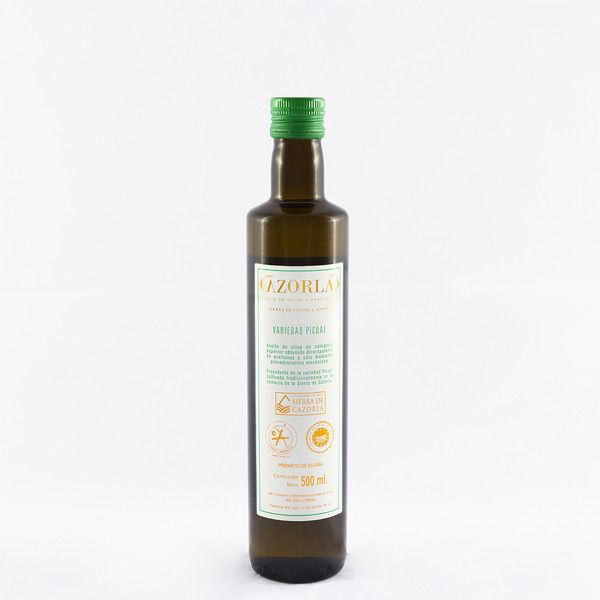 Aceite de Oliva Picual. Pack de 12 botellas de 500 ml
