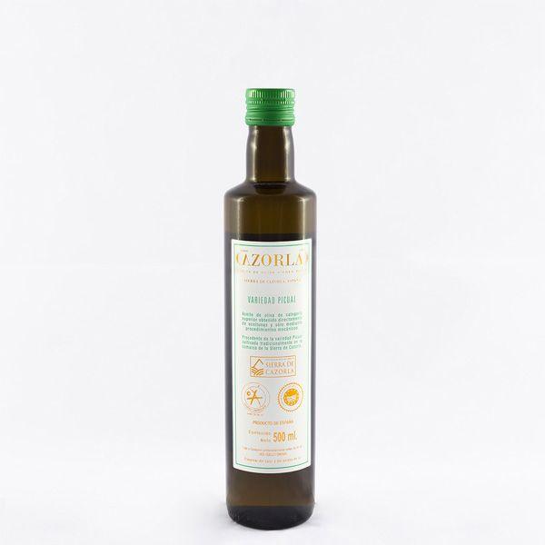 Aceite de Oliva Picual. Pack de 12 botellas de 500 ml