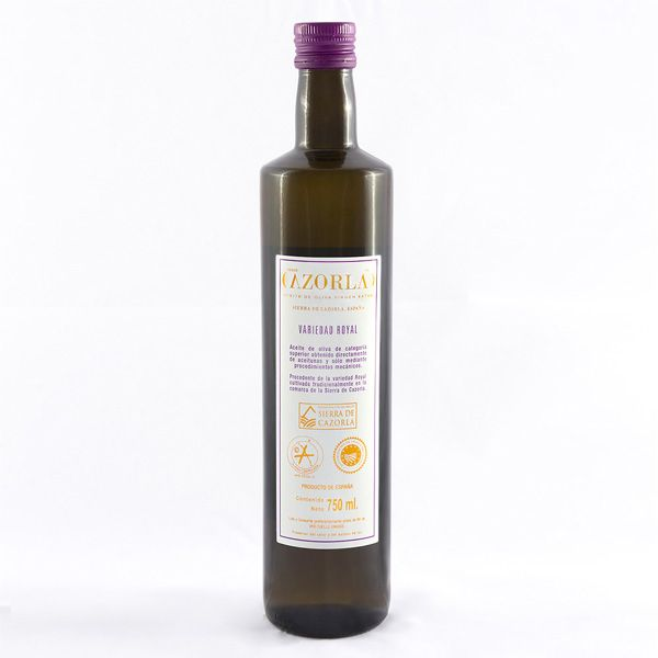 Aceite de Oliva Royal. Pack de 12 botellas de 750 ml