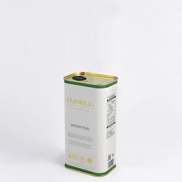 Aceite de Oliva Picual. Pack de 15 latas de 1L