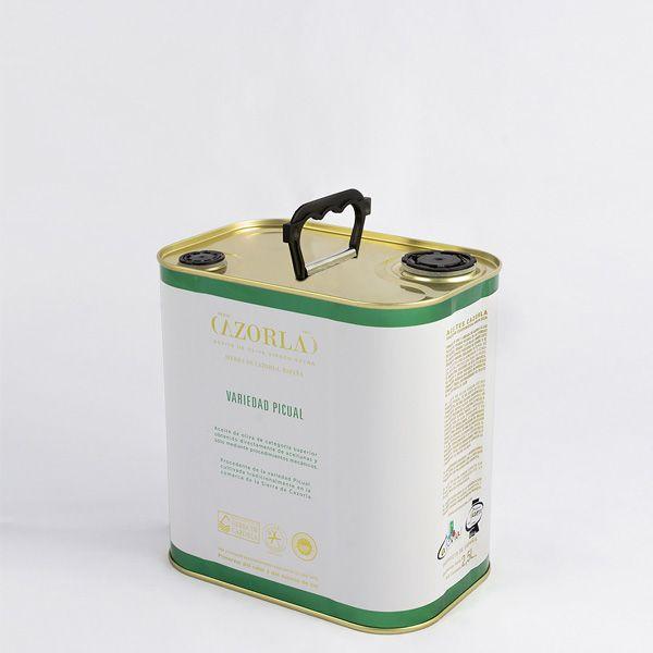 Aceite de Oliva Picual. Pack de 6 Latas de 2,5L
