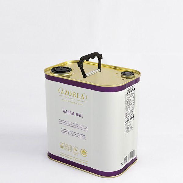 Aceite de Oliva Royal. Pack de 6 latas de 2,5L