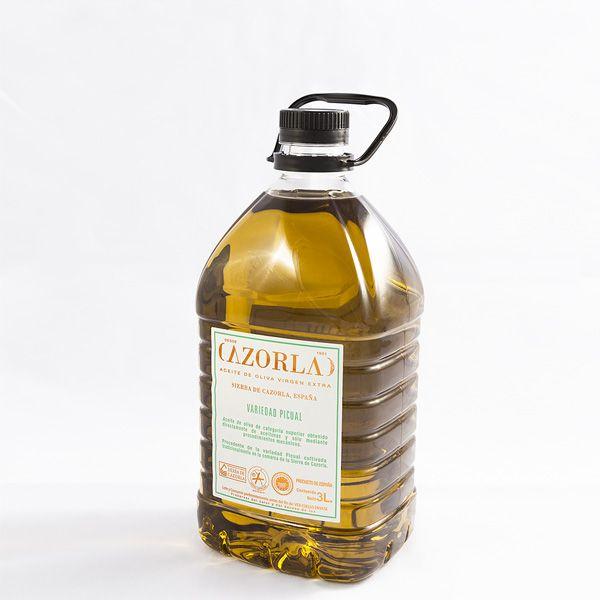 Aceite de Oliva Picual. Pack de 6 Envases de 3L