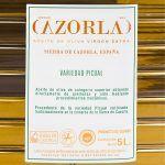 Aceite de Oliva Picual. Pack de 4 Envases de 5L
